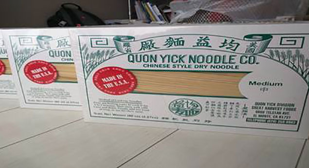 Quon Yick Noodle Co.